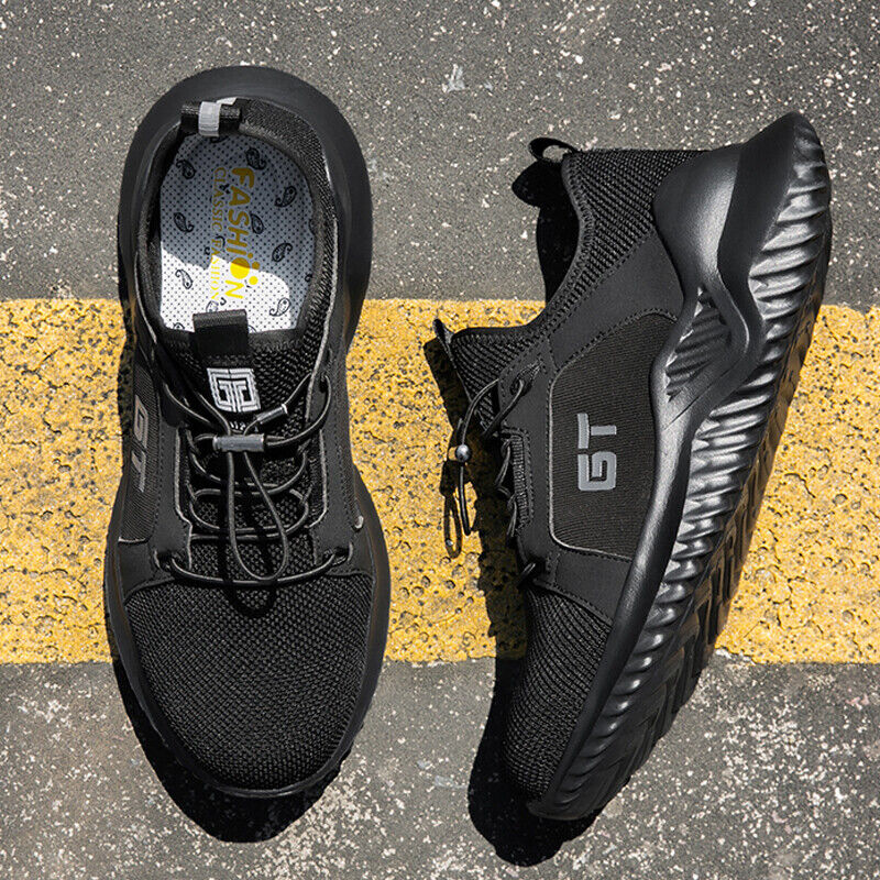 US Men's Safety Boots Steel Toe Sneakers Shoes Protection Outdoor Construction Boots