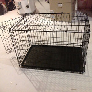 Large collapsible dog kennel London Ontario image 1