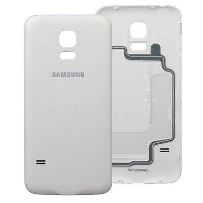 Tapa Trasera De Bateria Para Samsung Galaxy S5 i9600 Blanca