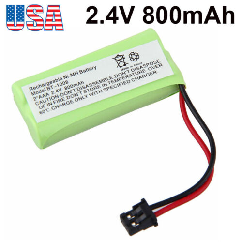 2.4V 800mAh For Uniden BT-1021 BT-1025 BT1025 CPH-515B Cordless Phone Battery US
