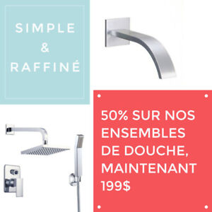 COLONNE OU KIT DE DOUCHE // SHOWER PANNEL - SUPER SALES 50% - RS