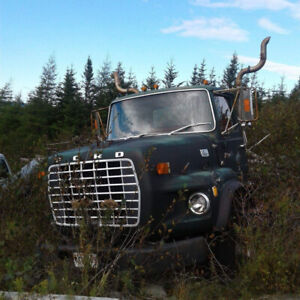 Tandem Truck for parts