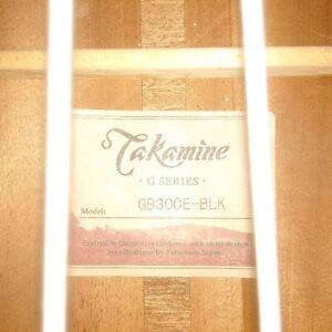 Takamine GB30CE Acoustic-Electric Bass Guitar Black Peterborough Peterborough Area image 10