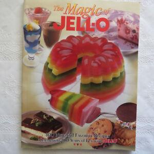 """""""The Magic of Jell-O""""  cookbook"""