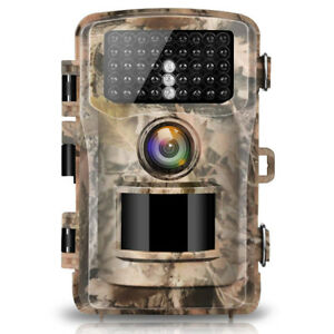 "Trail Camera 12MP 1080P 2.4"" Waterproof"