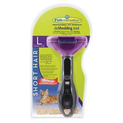 Furminator deShedding Tool für kurzhaarige große Katzen (36,99€/1Stk)