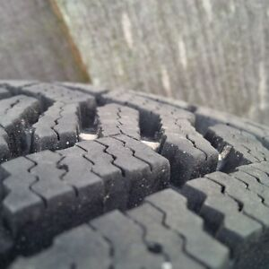 Winter tires on rims - new condition Cornwall Ontario image 2