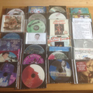 CHRISTMAS CD'S FROM A-Z ARTISTS - COUNTRY TO ROCK, JAZZ...(27)