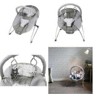 Swing Baby Vibrating Musical Bouncer Rocker Seat Chair Cradle Portable Toddler