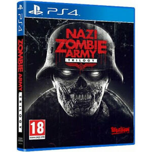 LOOKING TO TRADE FOR A MINT COPY OF ZOMBIE ARMY TRILOGY FOR PS4 Cambridge Kitchener Area image 1