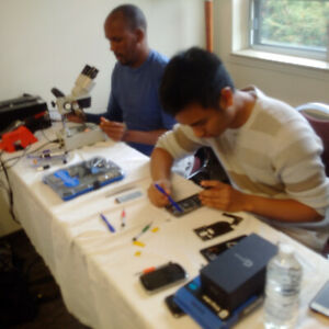 CELL PHONE REPAIR TRAINING COURSE  Level 1-4 Micro soldering IC