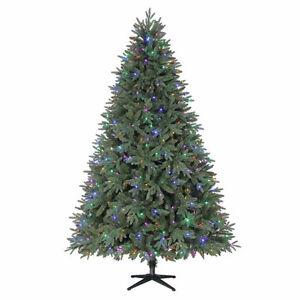 Pre lit North Spruce Fir 7.5' Christmas Tree