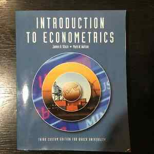 Introduction to Econometrics 3rd Custom Edition for Brock