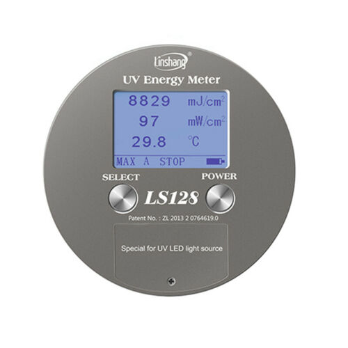 Ultraviolet Integrator Radiometer UV Energy Meter For UV LED Light Source LS128