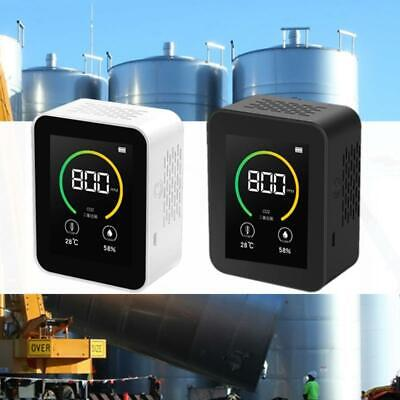 Co2 Monitor Air Quality Tester Gas Analyzer Detector With Temperature Humidity