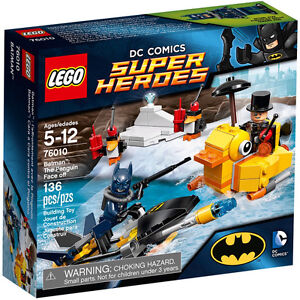 LEGO SUPER HEREOS, 	BATMAN: The Penguin Face off #76010