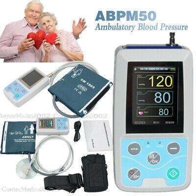 24hour Ambulatory Blood Pressure Monitor Automatic Nibp Holterpc Softwareusa