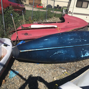 FLAT TRANSOM  CANOE with OUT RIGGER