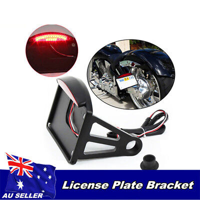 SIDE MOUNT LICENSE PLATE BRACKET TAIL LIGHT 4 <em>YAMAHA</em> ROAD STAR VSTAR 2