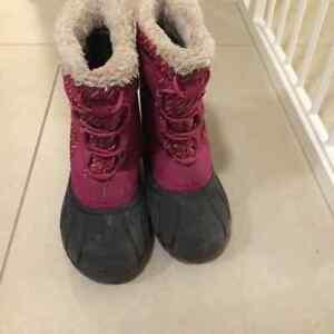 Girls Sorel Winter Boots - Size 11