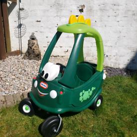 Little Tikes Dino Coupe Car