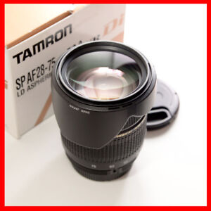For Nikon FX or DX, Tamron 28-75mm F2.8 AF lens