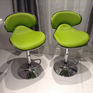 Brand New Pair Of Green Chairs