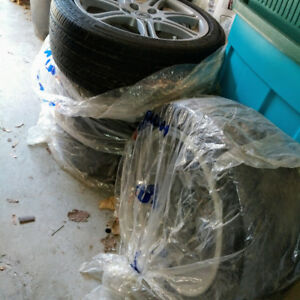 Michelin Radial XSE Nitrogen (Acura) Tires/Rims