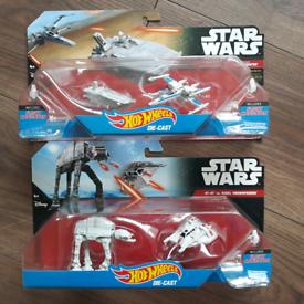 Hot Wheels Star Wars Set of 2 £20 + postage