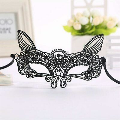 Masquerade Lace Mask Catwoman Fetish Erotic Halloween Cutout Prom Party Mask