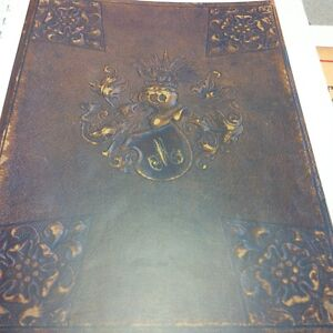 German guest book dated 1887 - New York