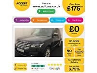 Land Rover Range Rover Vogue FROM £175 PER WEEK!