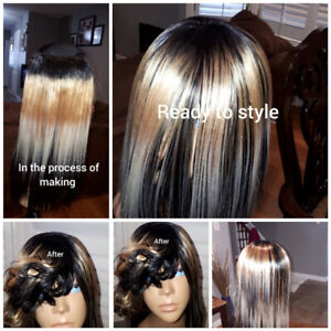 Professional Hair Installation