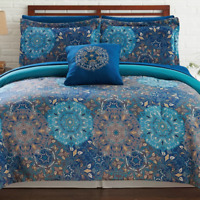Lawrence Reversible Comforter Set