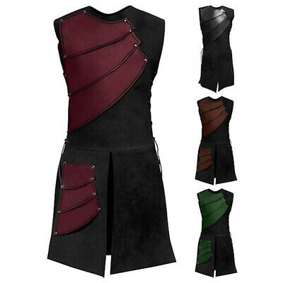 Adult Medieval Knight Warrior Cosplay Costume Armor Roman Soldier Archer - Roman Soldier Cosplay