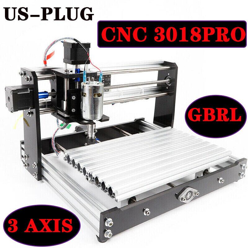 CNC 3018 PRO Machine Router 3 Axis GRBL Engraving PCB Wood DIY Miller Desktop US