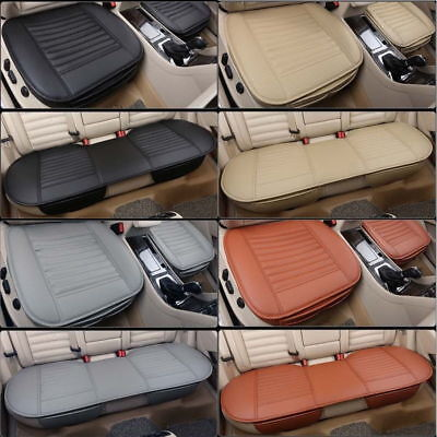 (3D Universal Car Seat Cover Auto Chair Cushion PU Leather Pad Mat for Honda Audi)
