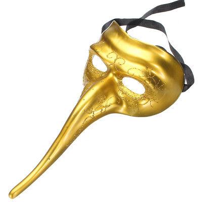 Halloween Long Nose Bird Mardi Gras Mask Venetian Masquerade Party Cosplay Mask