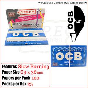 OCB-BLU-PER-ROLLARE-documenti-100-Confezione-3-6-12-amp-completa