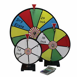 12 INCH MINI DRY ERASE COLOUR PRIZE WHEEL : ENTRY LEVEL London Ontario image 2