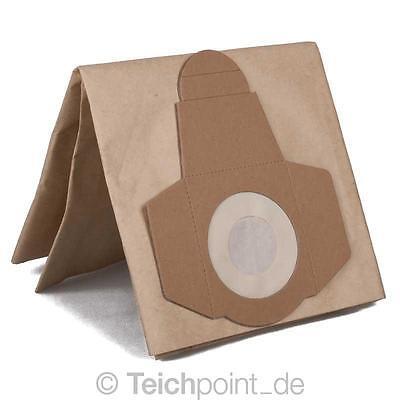 Papierfilter für AquaForte Teichschlammsauger, Staubfilter Papier Filter