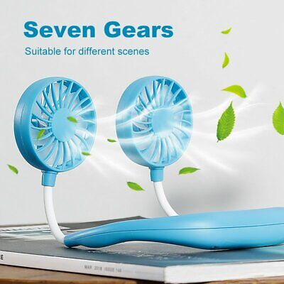 Hanging Neck Fan Travel Portable Sports USB Charging Fan Lazy Creative Mini -