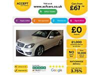 Mercedes-Benz C250 FROM £67 PER WEEK!