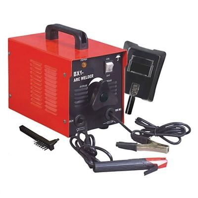 110v Arc Welder 100 Amp Rod Stick Welding Kit W Mask Chipper Brush Free Ship