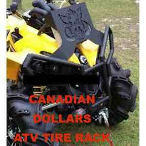 Can-am Renegade Rad Relocate & Bumper Kit Canada ATV TIRE RACK