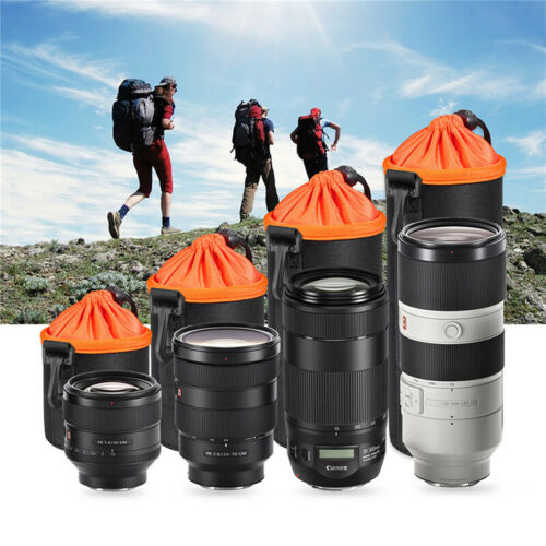 Waterproof Neoprene DSLR Camera Lens Soft Protector Pouch Ca