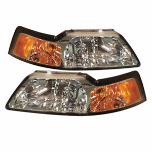 99-04 Ford Mustang headlights