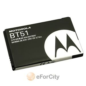 OEM FOR MOTOROLA BT51 BT-51 W315 W37 W755 A1200 Ming ROKR Z6m RIZR Z6tv BATTERY