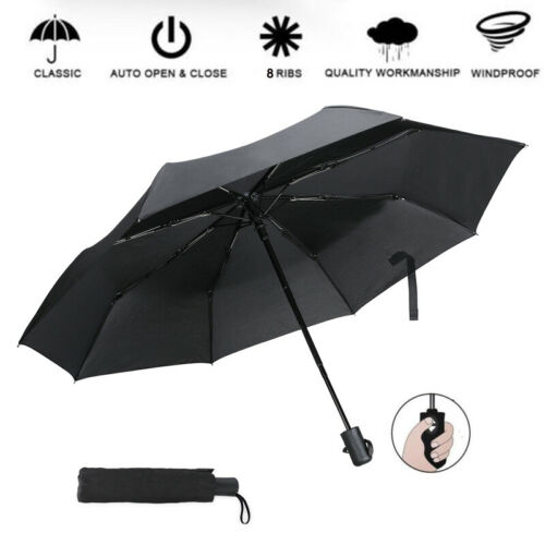 Umbrella Men Windproof Uv Rain Automatic Folding Mens Quality Large New 4 Colors