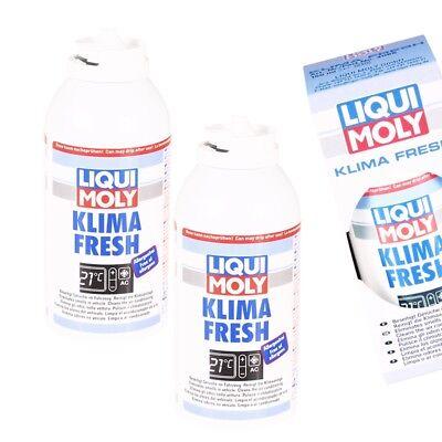 2x 150 ml Liqui Moly Klima Fresh Klimaanlagen Reiniger Desinfektion Reinigung